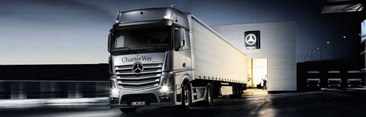 Witamy w Mercedes-Benz CharterWay.